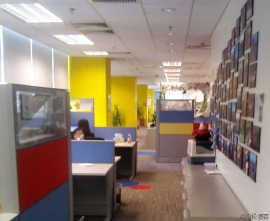 google北京分公司美女员工