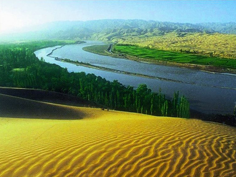 沙湖、影视城、岩画、沙坡头、魅力青城天堂草原三卧六日游