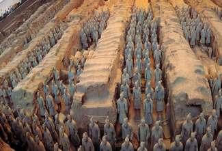 西安明城墙、兵马俑、华山单卧四日游