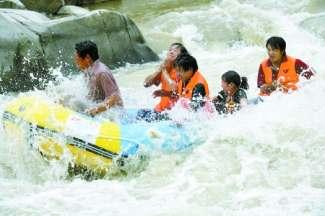 豫西大峡谷漂流、双龙湾两日游