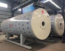 2017年新型YY(Q)W燃气导热油锅炉成品展示