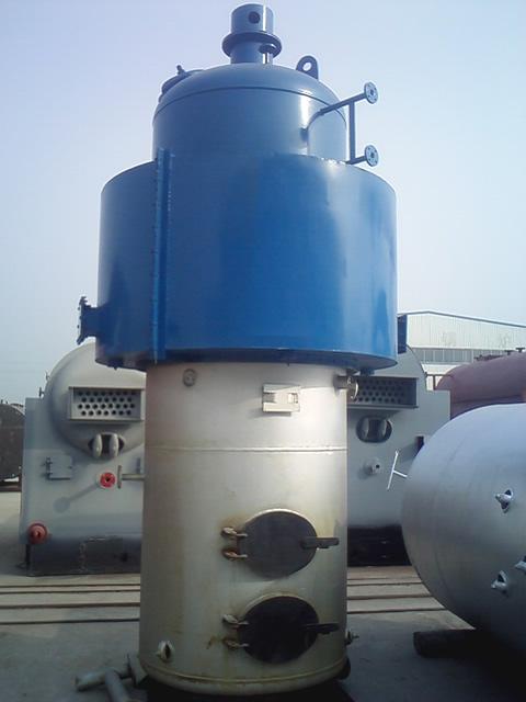 环保立式蒸汽热水锅炉
