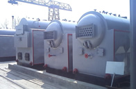 式快装热水锅炉